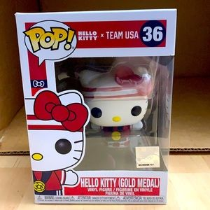 Funko Hello Kitty x Team USA Gold Medal
